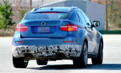 BMW X6 blue