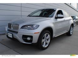 BMW X6 silver
