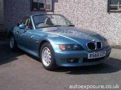 BMW Z3 blue