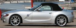 BMW Z4 silver