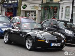 BMW Z8 brown