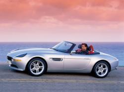 BMW Z8 white
