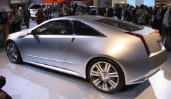 CADILLAC CTS COUPE CONCEPT blue