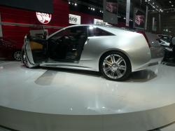 CADILLAC CTS COUPE CONCEPT silver