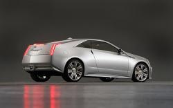 CADILLAC CTS COUPE CONCEPT white