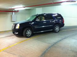CADILLAC ESCALADE 6.0 black