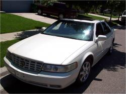 CADILLAC STS SEVILLE white