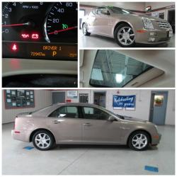 CADILLAC STS brown