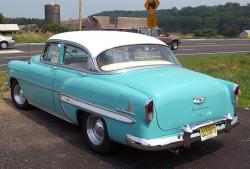 CHEVROLET BEL AIR COUPE blue