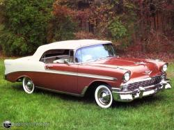 CHEVROLET BEL AIR COUPE brown