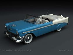 CHEVROLET BEL AIR blue