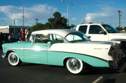 CHEVROLET BEL AIR green