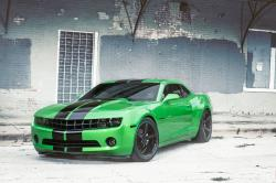 CHEVROLET CAMARO 1 green