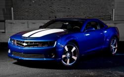 CHEVROLET CAMARO blue