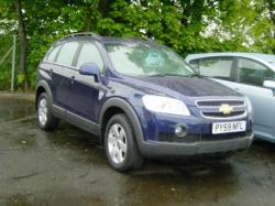 CHEVROLET CAPTIVA blue
