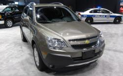 CHEVROLET CAPTIVA green
