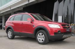 CHEVROLET CAPTIVA red