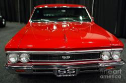 CHEVROLET CHEVELL SS red