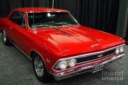 CHEVROLET CHEVELLE red