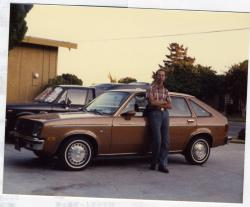 CHEVROLET CHEVETTE brown