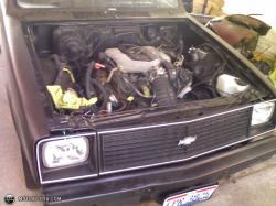 CHEVROLET CHEVETTE engine