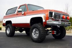 CHEVROLET CHEYENNE 4X4 red