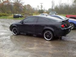 CHEVROLET COBALT COUPE black