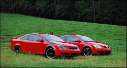 CHEVROLET COBALT red