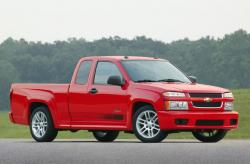 CHEVROLET COLORADO red