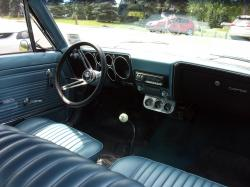 CHEVROLET CORVAIR interior