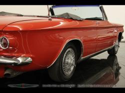 CHEVROLET CORVAIR red