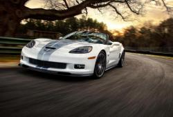 CHEVROLET CORVETTE 427 white