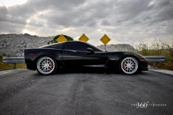 CHEVROLET CORVETTE black