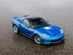 CHEVROLET CORVETTE blue