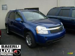 CHEVROLET EQUINOX LT AWD blue
