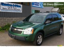 CHEVROLET EQUINOX LT AWD green