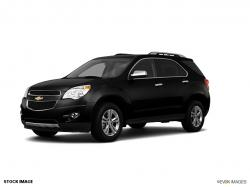 CHEVROLET EQUINOX black