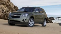 CHEVROLET EQUINOX green
