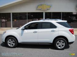 CHEVROLET EQUINOX white