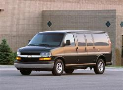 CHEVROLET EXPRESS 1500 green