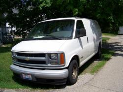 CHEVROLET EXPRESS blue