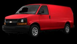 CHEVROLET EXPRESS red