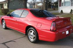 CHEVROLET MONTE CARLO red