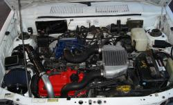 CHEVROLET SPRINT TURBO engine