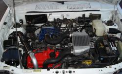 CHEVROLET SPRINT TURBO engine
