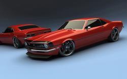 CHEVROLET SS red
