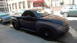 CHEVROLET SSR black