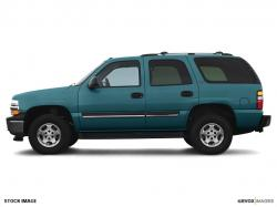 CHEVROLET TAHOE blue