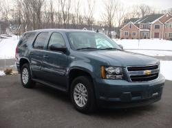 CHEVROLET TAHOE green