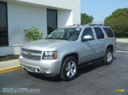 CHEVROLET TAHOE silver